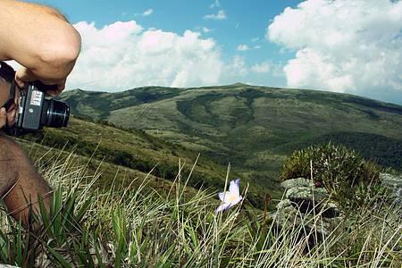 Picos - Pico do Pião é um dos pontos mais altos do parque