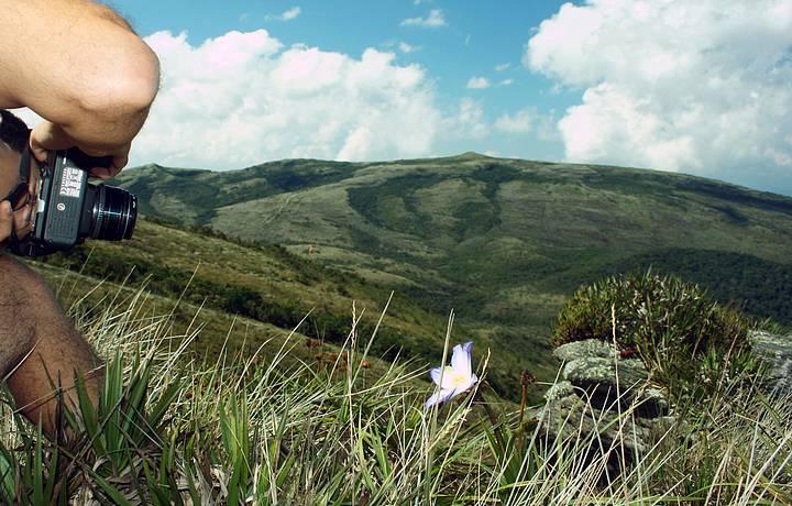 Pico do Pião é um dos pontos mais altos do parque