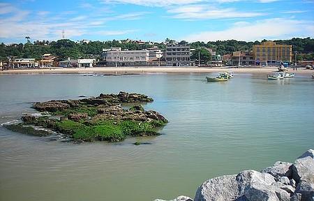 Centro - Agora temos uma bela praia