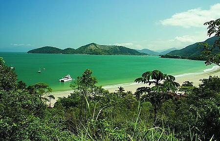 Ubatuba - Praia da Enseada é uma das mais belas