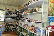 Artesanato vendido na casa Saretta , parceria com os artesões locais.