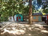 Um vilarejo muito colorido...