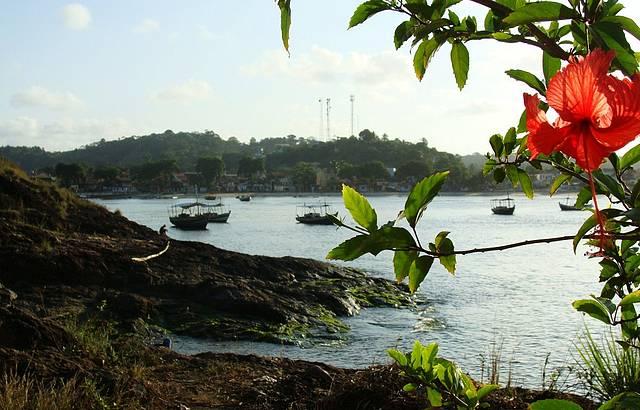Entardecer no Morro do Cheréu, Praia da Concha, em Itacaré... Lindo demais!