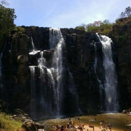 Cachoeiras e Rua do Lazer - Lugar lindo