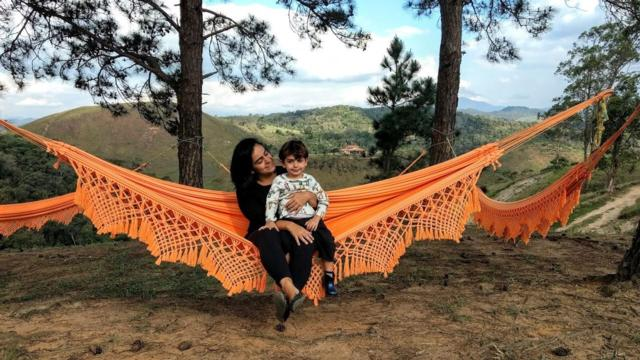 No Uaná, redes para descansar e um lindo visual
