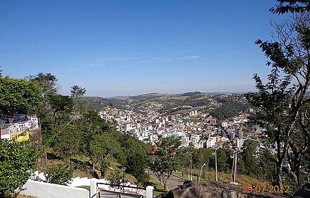 Morro do Fonseca - Vista da cidade a 1.500 metros de altitude.
