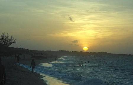 Divisa  com Luiz Correia - Pôr do sol