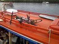 Bikes no barco.