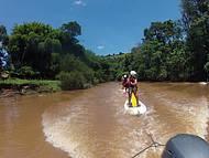 Stand up paddle rio acima