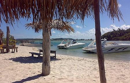 Barra de Catuama - A Barra e Seus Turistas Apaixonados por Essas Águas Tão Calmas.