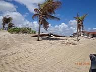Casa engolida pela areia.