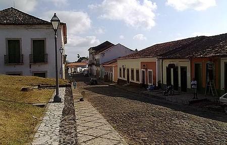 Rua Grande - Vista a partir da praça da matriz