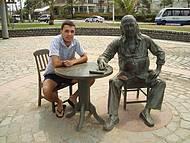 Estátua de Vinicius de Moraes