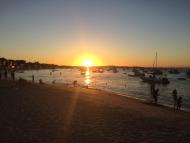 Pôr do sol em Gamboa