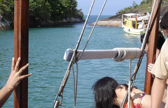 Parada para Mergulho em uma das Ilhas
