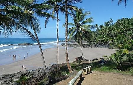 Havaizinho - Vista da praia