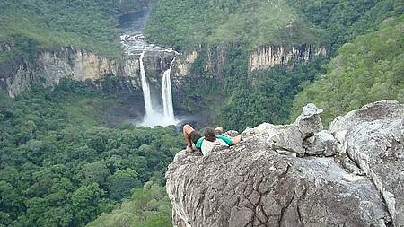 Cachoeira do Abismo & Mirante da Janela - Descansando um Pouquinho