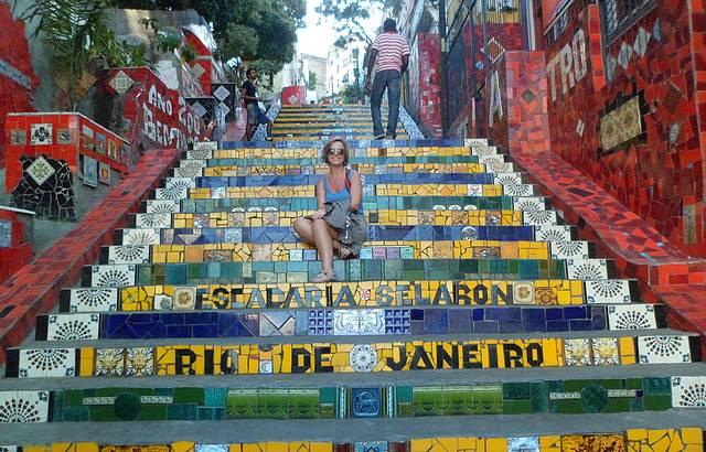Onde o Brasil é mais colorido!