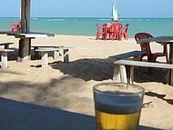 Sol, mar e cerveja gelada!