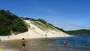 Jacumã: Mergulho garantido com ou sem aerobunda<br>