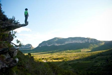 Como tirar boas fotos de si mesmo ao viajar sozinho? - Mirante Campo Redondo