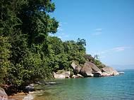 Praia do Tanguazinho, perfeita, com acesso por uma pequena trilha!