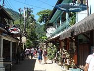 Uma das Ruas da Vila Abraão