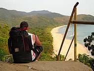 Trilha...chegando à Praia do Sono