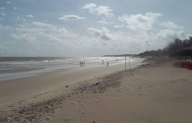 Manh� na Praia do Calhau