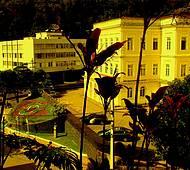 Vista a partir da Casa de Santos Dumont