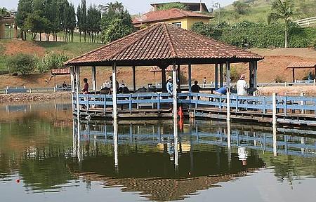 Refugio do pescador - Lindo quiosque no meio da lagoa