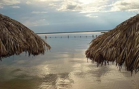 Praia do Prata - Até em dias nublados vale a pena conhecer o lugar