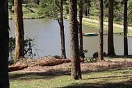 Para refrescar, passeio de caiaque no lago da Fazenda Serra do Japi