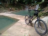 Passeiro de bicicleta