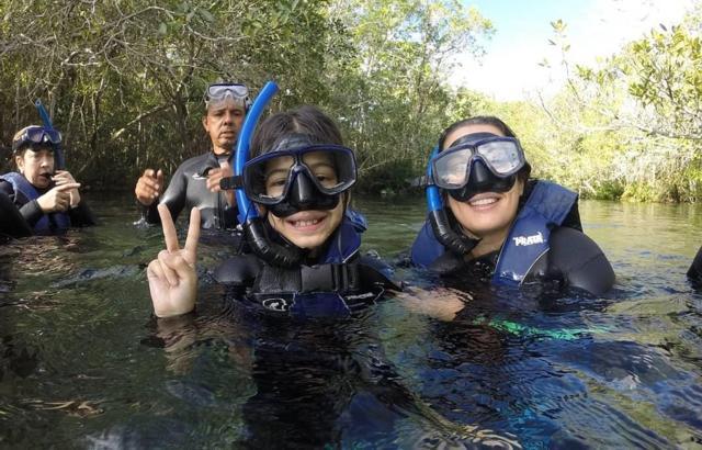 Flutuação - programa obrigatório para crianças e adultos