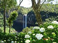 Uma das belas vistas para a cascata do Caracol