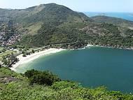 Belo visual da praia do Forte