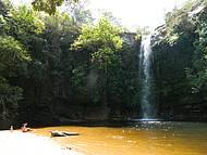 A bela Cachoeira do Abade