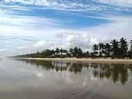 Começo do dia na Praia da Costa