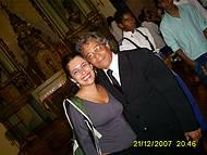Eu (Parísina) e o maestro Alex