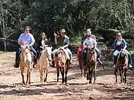 Cavalgadas reúnem adultos e crianças