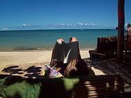 Paz e tranquilidade na Praia do Espelho