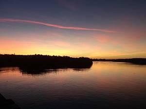 Passeio de barco pelo rio Pardo