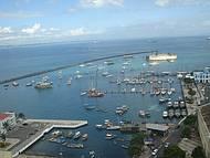 O fantástico Forte de São Marcelo, e a Marina de Salvador