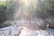 Passeio na Cachoeira do Para�so, a magia da Jur�ia