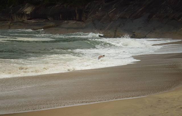 Canto direito da praia