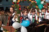 Cidade � famosa pelos eventos folcl�ricos inspirados na cultura alem�