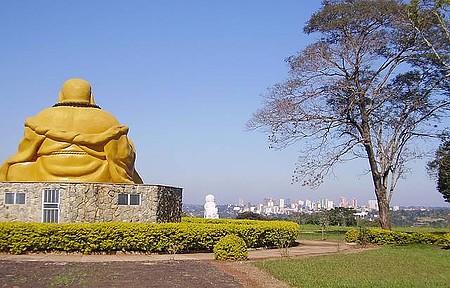 O Buda olhando pra Foz