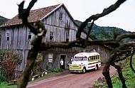 Ve�culos antigos levam �s propriedades rurais