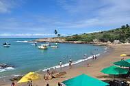 A aconchegante Praia de Calhetas